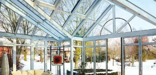 Розташування і мікроклімат зимового саду. Рослини зимового саду