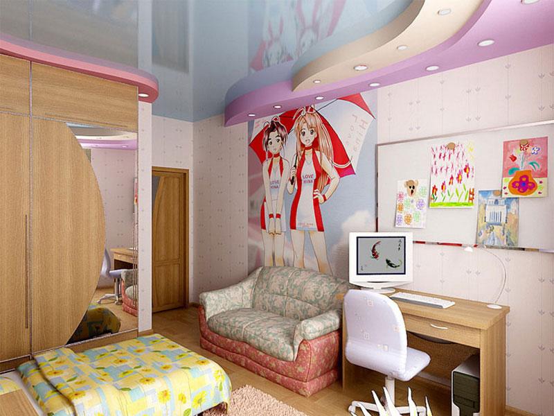 Оформлення кімнати для дівчинки руками. Розробляємо дизайн дитячої кімнати самостійно