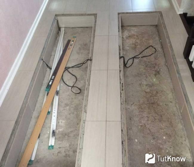 Скляна підлога: види, особливості, переваги. Скляна підлога в квартирі-чи можна зробити самому? скляне вікно в підлозі