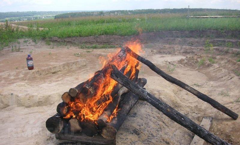 Обпалена дошка. Глибокий випал деревини своїми руками