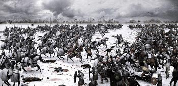 Невська битва і льодове побоїще з ким. Льодове побоїще олександра невського: битва на чудському озері-схема, значення