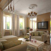 Дизайн вітальні з вікнами на різних стінах. Дизайн інтерєру з панорамними вікнами вітальня з великим вітражним вікном