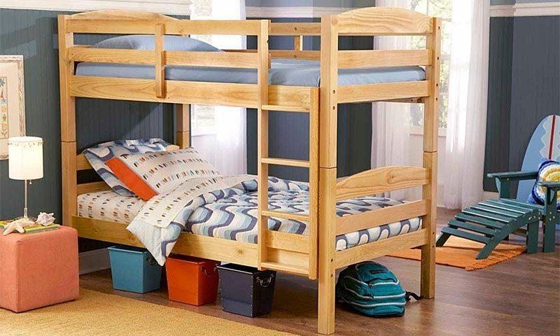 Ліжко другий ярус доросла своїми руками. Двоповерхові ліжка для дітей