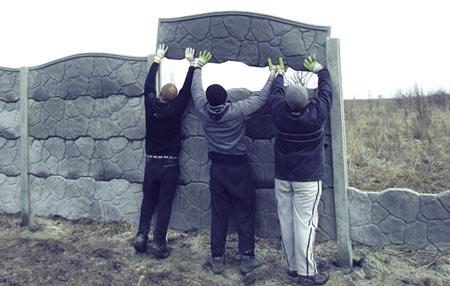 Зроби сам своїми руками. Як зробити еврозабор своїми руками-всі етапи будівництва та монтажу